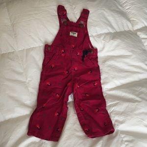 Pink 12M Corduroy Overalls (must bundle)